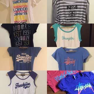 BRANDED CLOTHING FOR SALE STUSSY MOSSIMO SUPERDRY FRESHJIVE