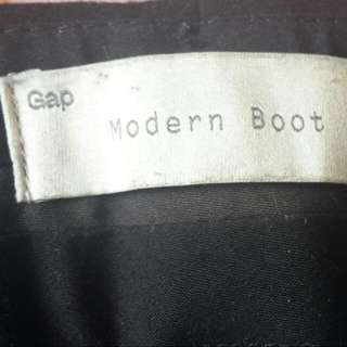 GAP- Modern Boot Black Office Trousers- Amt Inclusive Of Postage