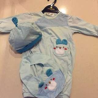 降價🎉品牌秋裝二手幼童套裝 一套三件