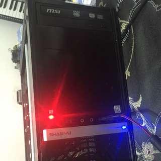 (因被放生重登) 個人電腦主機 高階雙核速龍 1G獨顯卡王(可跑線上遊戲)
