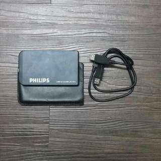 二手美品 120g行動硬碟 Philips