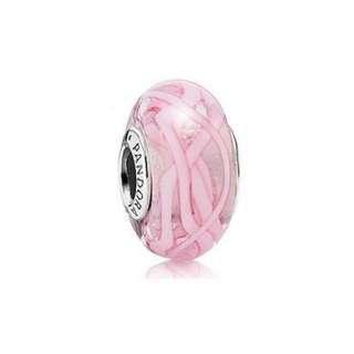 Pandora Pink Ribbon Glass