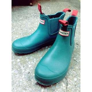 9成新 Hunter 雨鞋 短靴 Uk6 EU39