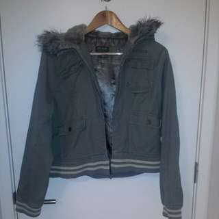 Green Jacket Just Jeans Size 12