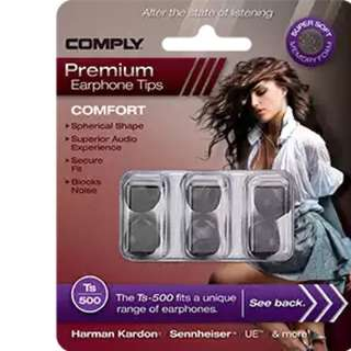Comply Ts-500 Comfort Foam Tips (Medium, 3 Pairs)