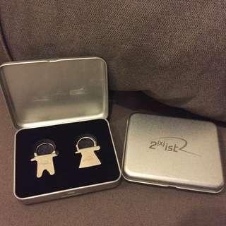 2(x)ist情侶鑰匙圈