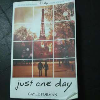 JUST ONE DAY - Author GAYLE Forman
