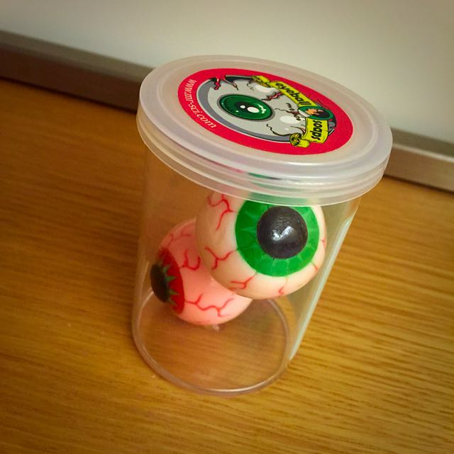 👀👍知名賽先生科學玩具眼球肥皂