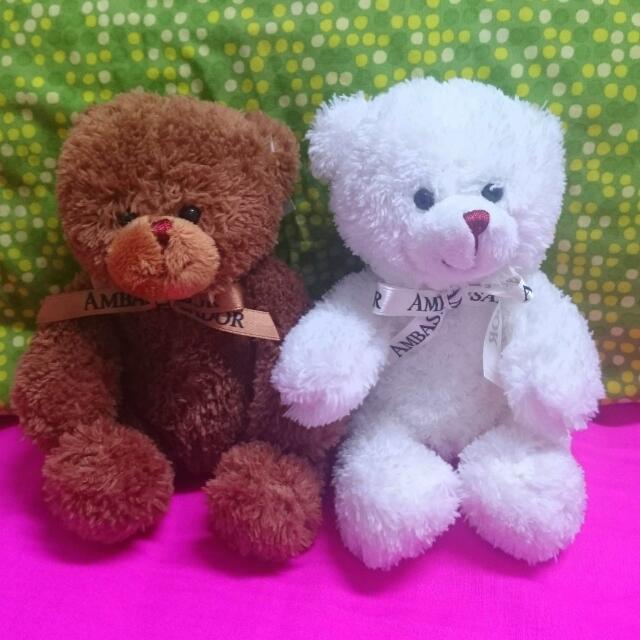 情侶熊熊布偶 ♥