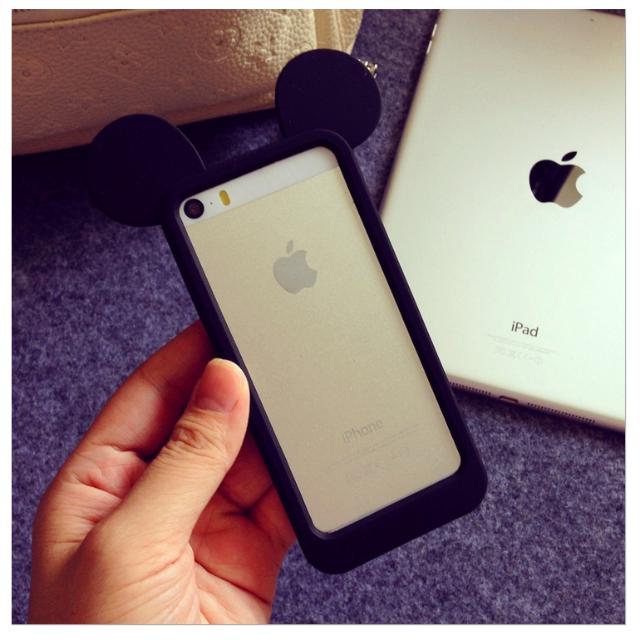 米奇造型保護套(米奇耳朵保護殼 框 可愛 iphone 6 4.7)