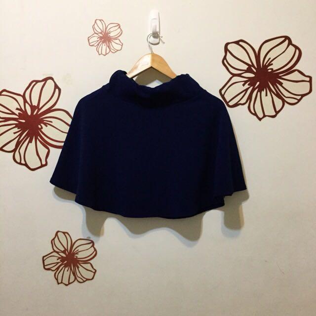 ✌🏻️手☝🏻 · 寶藍色顯瘦A字裙
