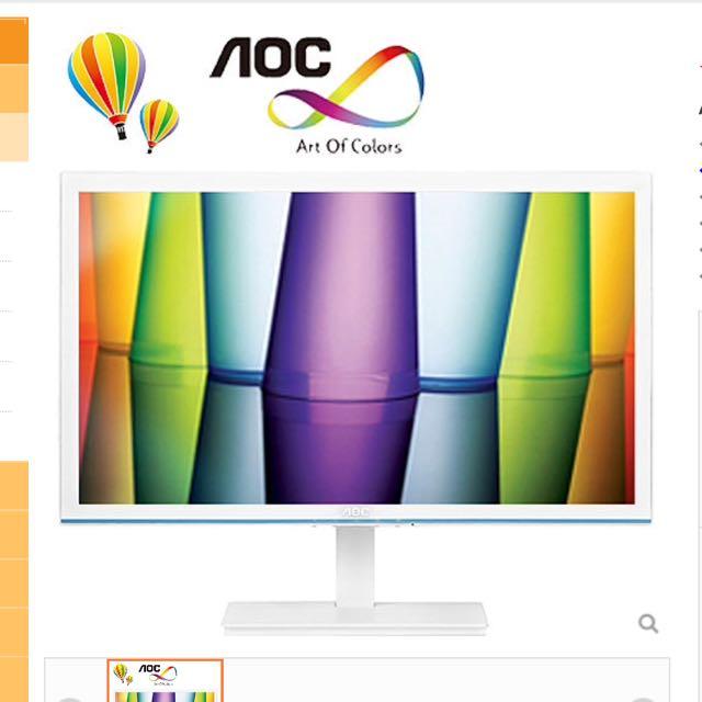 AOC 22吋低藍光不閃頻螢幕 ( 液晶螢幕電腦螢幕 Sony Benq Asus Acer E2276vwm6