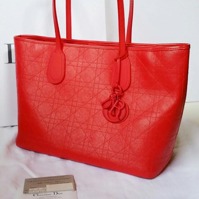 689747ee6ec Christian Dior Panarea Bag, Luxury on Carousell
