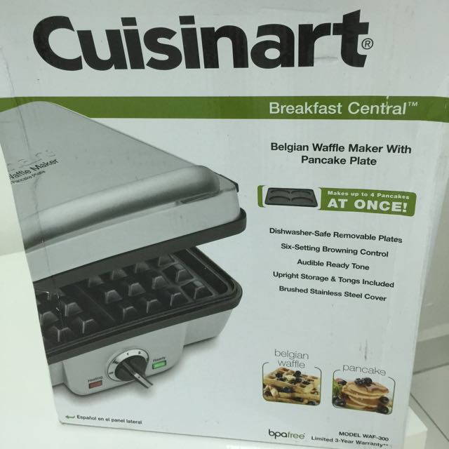 Cuisinart Belgian Waffle Maker Waf 300 Home Appliances On Carousell