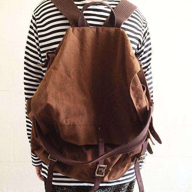 Engineered Garments Vintage Rucksack Bag Men S Fashion On Carousell