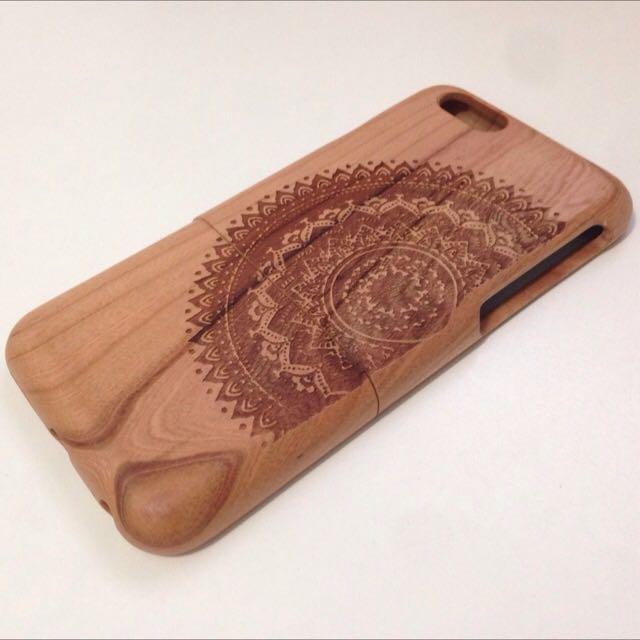 英國帶回木製圖騰IPhone 6手機殼