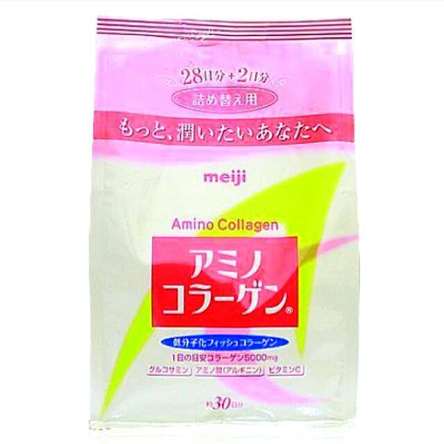 [日本帶回]日本原裝明治meiji膠原蛋白粉補充包30日份