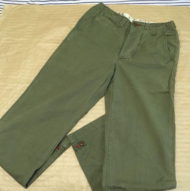 RMC 軍綠休閒褲