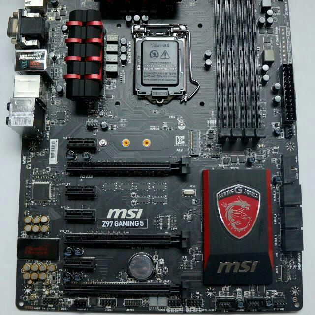 Z97 MSI Gaming 5 Motherboard & Intel i5 4690K bundle
