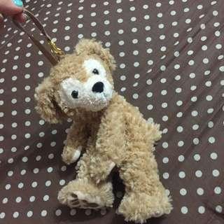 日本 東京海洋迪士尼購回 Duffy 吊飾 玩偶 娃娃 約30cm 筆袋 可置物 有拉鍊 全新正品