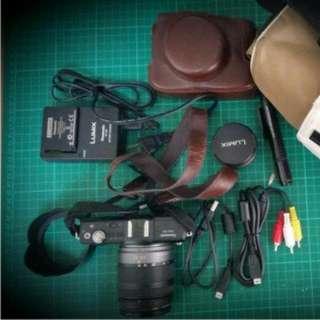 Panasonic GF2單眼相機 黑色 雙鏡組 公司貨