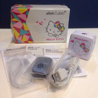 (保留中)altek Cubic Live HELLO KITTY智慧型直播相機(時尚白)📷