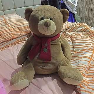 Brown Stuffed Bear