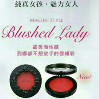 Visee 唇頰彩RD-1 OR-3 BE-5 PK-2 PK-4 RD-6