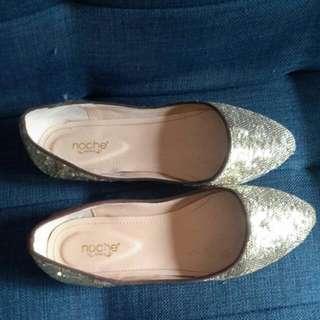 Sequin Shoes Merk Noche