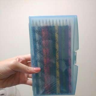 (全新)12色音樂系色鉛筆