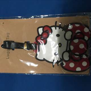 brand new hello kitty luggage tag
