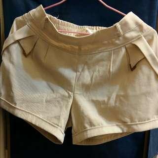 西裝質料短褲
