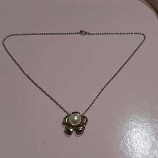 小花珍珠項鍊