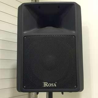 <二手>Rosa 12吋低音單體PA外場專用喇叭PK-12E【廣角型號角高音】表演/街頭藝人