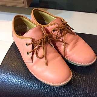Effie淡粉牛津鞋