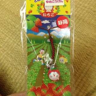 🍓草莓哆啦a夢吊飾
