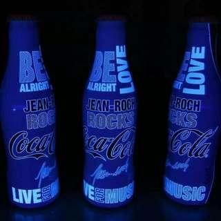 Coca-Cola Jean Roch aluminum bottle France 2015