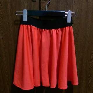 (全新)橘色裙,50元