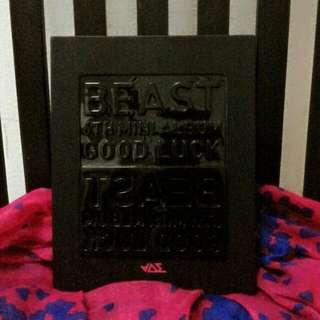 BEAST_ GOOD LUCK photobook Official ( Black Version)