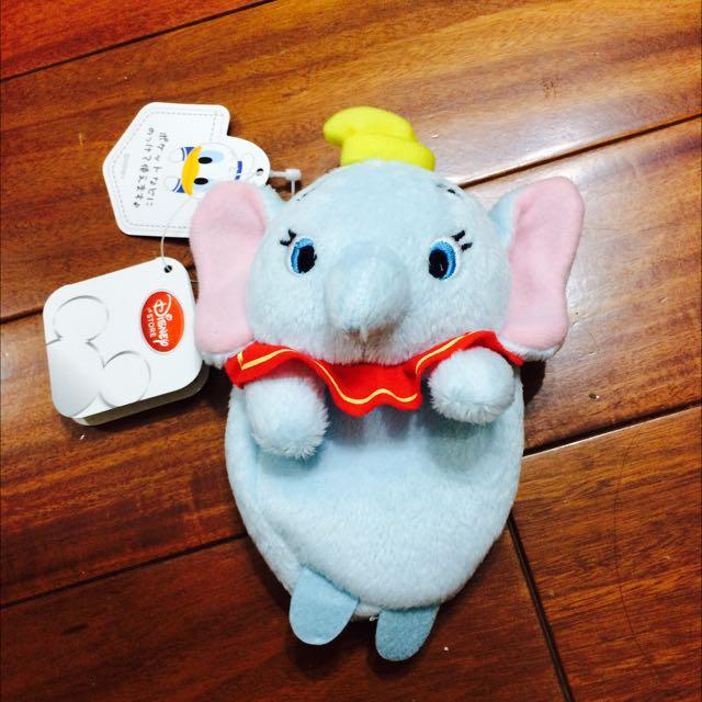 全新✨日本迪士尼商店購入✨小飛象零錢包