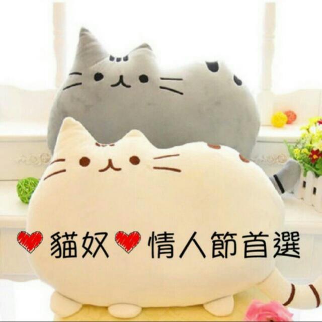 【缺貨停售】貓奴貼圖實體化抱枕