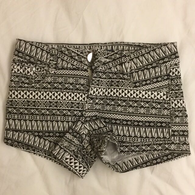 Caco民族風短褲