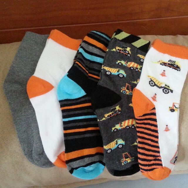 正韓國製男童襪