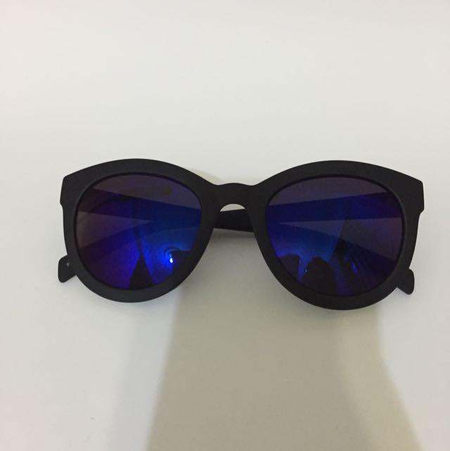 紫藍色太陽眼鏡