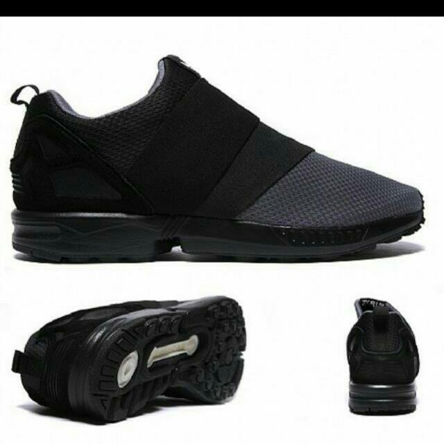 Adidas  Zx flux slip on 黑色