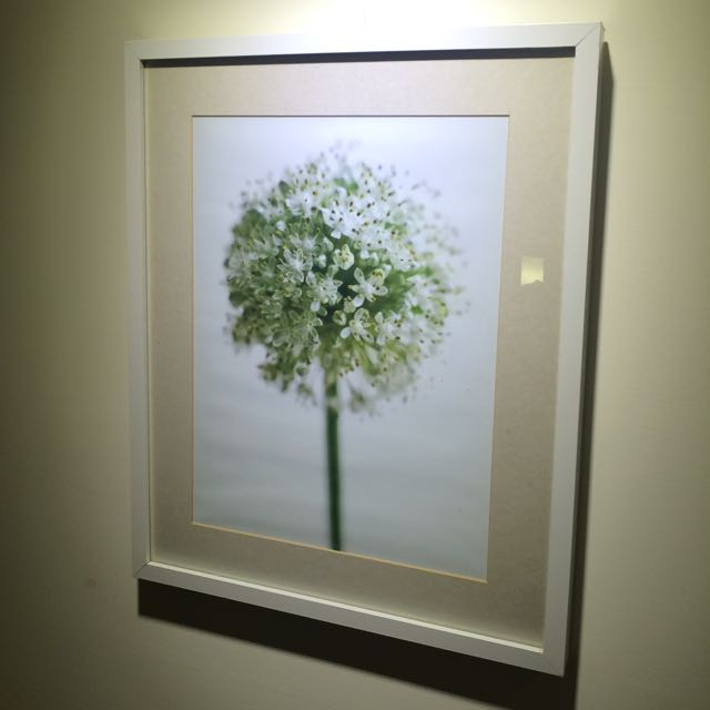 Ikea白色裱框畫,簡約風