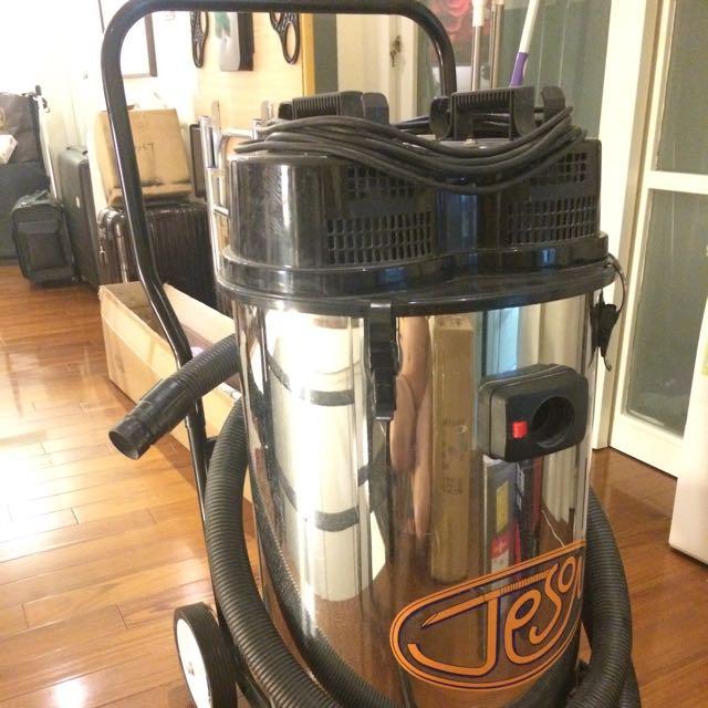 台灣製/潔臣LS220/20加侖/雙馬達/工業用吸塵器/乾濕兩用