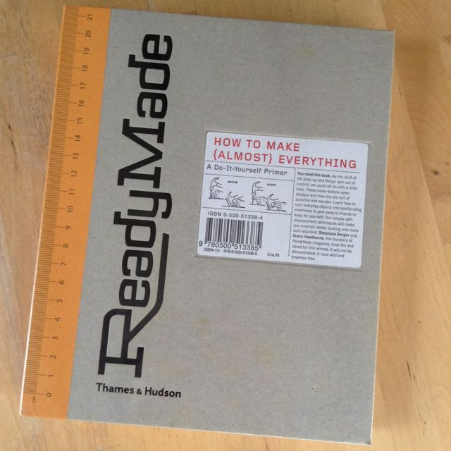 ReadyMade: How To Make {almost} Everything