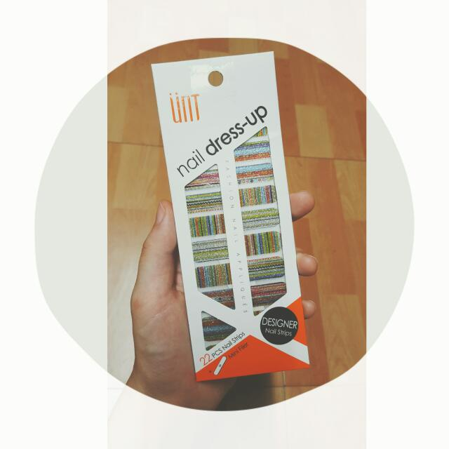 UNT 民俗風 指尖伸展台美甲貼 旋轉音樂盒 NS021