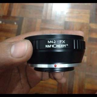 Fujifilm Adaptor To M42 Lens